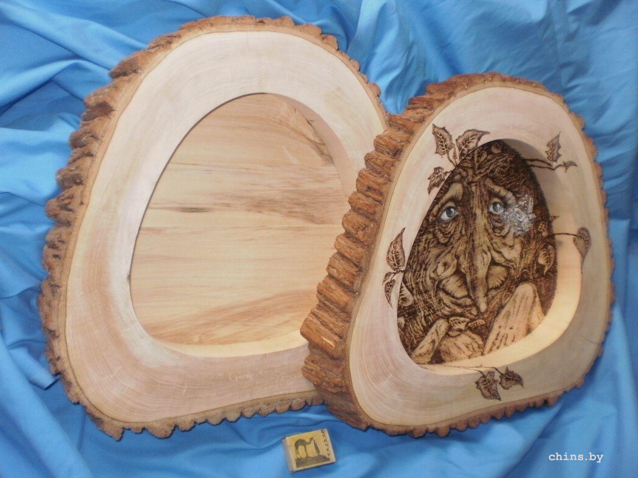 Поделки из дерева с выжиганием 32