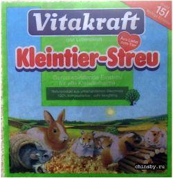Опилки Vitakraft Kleintier-Streu