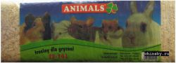 Опилки Animals для грызунов