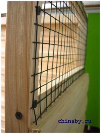 Проект витрины для шиншилл