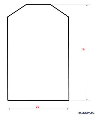 Домик для шиншиллы чертеж